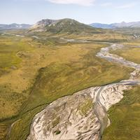 Brooks Mountain Range at Gates of the Arctic National Park