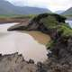 Pools of water during the permafrost thaw at Gates of the Arctic National Park