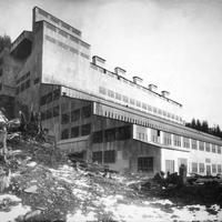 Gastineau Gold Crushing Mill, Juneau, Alaska, 1916