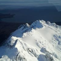 Snow-capped Peaks at Katmai National Park
