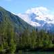 Landscape of Crescent Lake Ranger in Lake Clark National Park