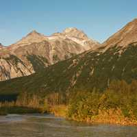 Tlikakila River landscape in Lake Clark National Park