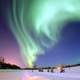 Aurora Borealis in the skies above Alaska