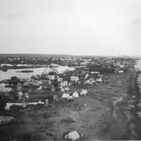 Houses in 1907 in Nome, Alaska