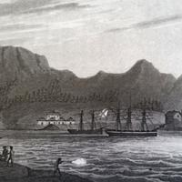 New Archangel in 1805, now Sitka, Alaska