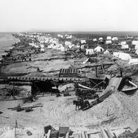 Settlement of Nome in Alaska around 1900