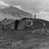 Sod house in Anaktuvuk Pass, Alaska