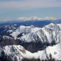 The Towering Mountains of the Alaskan Range