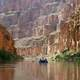 Boating in the Colorado River in Grand Canyon National Park, Arizona