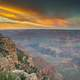 Dusk Clouds over the Canyon at Grand Canyon National Park, Arizona