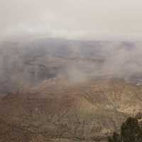 Fog Over the Grand Canyon