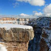Grand Canyon Winter landscape in Arizona