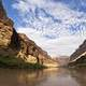 Landscape of the Grand Canyon and Colorado River, Arizona