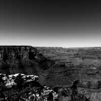 Panoramic of the North Rim Grand Canyon, Arizona