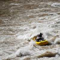 Rafting in the Colorado River in the Grand Canyon, Arizona