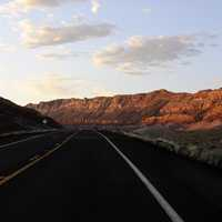 Road in Grand Canyon National Park, Arizona