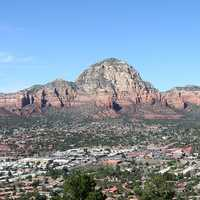 Aerial view of West Sedona, Arizona