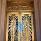 Art Deco doors on the Cochise County Courthouse in Bisbee, Arizona