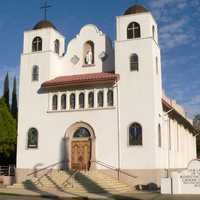 Church building in Miami, Arizona
