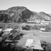 Clifton Townsite Historic District in 1993 in Arizona