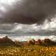Clouds and Rocky hill Landscape in Sedona, Arizona