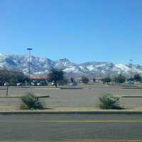 Huachuca Mountains in the winter in Sierra Vista, Arizona