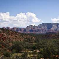Oak Creek Canyon Landscape