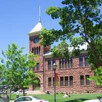 Old Coconino County Courthouse in Flagstaff, Arizona