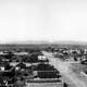 Panorama of Tombstone in 1909 in Arizona