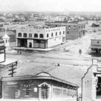 Panoramic view in 1904 in Douglas, Arizona