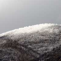 Snow on the Mountaintop landscape