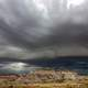 Storm Clouds over the Petrified Forest Landscape
