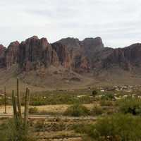The Lost Dutchman Mine, located in the Superstition Mountains in Apache Junction, Arizona