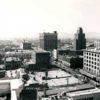 Phoenix Skyline in 1940 in Arizona