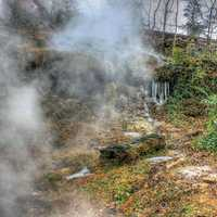 Natural Springs at Hot Springs Arkansas