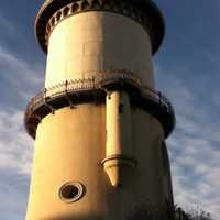 Fresno Water Tower in California