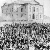 1882 opening of 2nd branch California State Normal School in Los Angeles