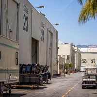 Backstage Alley in Hollywood, Los Angeles, California
