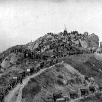 1913 Mount Rubidoux Easter Sunrise Services in Riverside, California