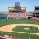 Angel's Stadium Baseball Diamond in Bakersfield, California
