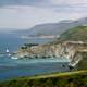 Big Sur coast landscape and seashore in California