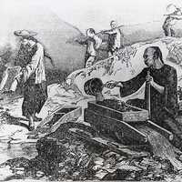 Chinese gold miners in California