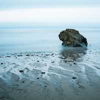 El Pescador Beach in California landscape