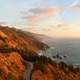 Landscape and roadway in Big Sur, California