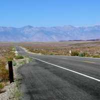 Road to Death Valley, California