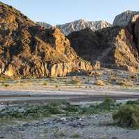 Scenic View of Afton Canyon in the Mojave Desert