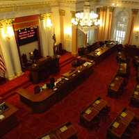 California State Senate in Sacramento, California