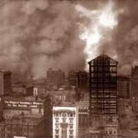 1906 Earthquake and fire in San Francisco, California