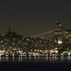 Night Time Skyline of San Francisco. California