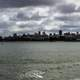 San Francisco skyline from Torpedo Wharf in the morning, California